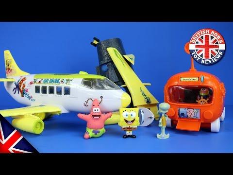 Xxx Mp4 Spongebob Squarepants Plane Bikini Bottom Submarine Bus Playset Episode With Duplo Peppa Pig 3gp Sex