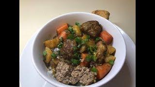 How to Make Southern Homemade Meatball Stew