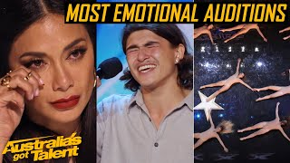 The Most EMOTIONAL AUDITIONS | Heartfelt Auditions | Australia