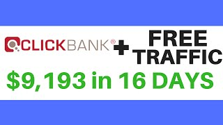 How To Promote ClickBank Products Without a Website with Free Traffic