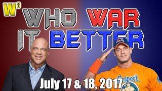 Kurt Angle's Secret Revealed! John Cena Buries Battleground!   Who War It Better