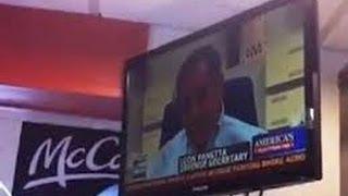 Fox News in McDonalds: Customer vs. Owner