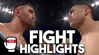Joseph Parker v Hughie Fury | FIGHT HIGHLIGHTS