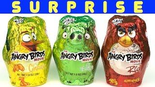 The Angry Birds Movie Chocolate Surprises