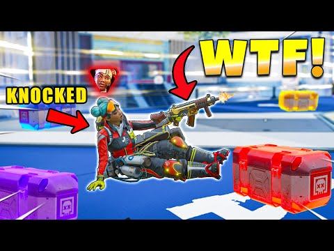 BROKEN Sneaking Weapons Into BOXING RING NEW Apex Legends Funny & Epic Moments 608