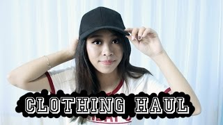 CLOTHING HAUL 2016 (TRY ON) || H&M, PULL & BEAR, FOREVER 21, etc || ENG SUB || CHIKEZIA