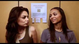 Mila Kunis e Zoe Saldana in After Sex - ITA