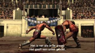Spartacus Legends -- Cast Interviews Official Video [NL]