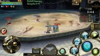 Aurcus online ~ Samurai(Cabbage) vs Archer(Vladyn)