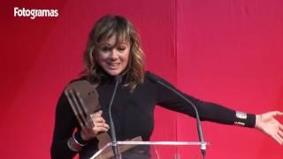 Fotogramas de Plata 2016: Emma Suárez, Mejor actriz de cine