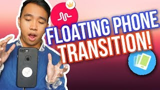 MUSICAL.LY FLOATING PHONE TRANSITION TUTORIAL! *NEW*