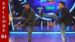 D4 Junior Vs Senior I EP 84 -Appani Sarath with Jimikki Kammal..! I Mazhavil Manorama