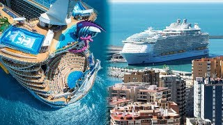 THE BIGGEST CRUISE SHIPS In The World