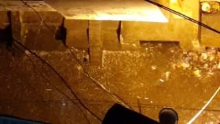 Hailstorm in kabir nagar delhi
