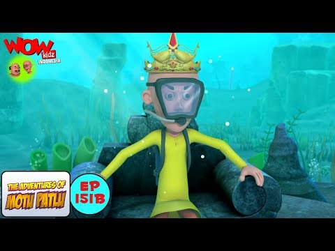 Raja Patlu - Motu Patlu dalam Bahasa - Animasi 3D Kartun