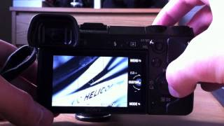 NEX-7 Firmware Update Before and After (Ver. 1.01)
