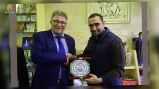 رئيس جامعة القدس يزور مجموعة من المؤسسات في محافظة بيت لحم