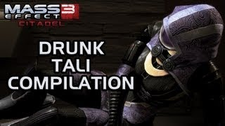 Mass Effect 3 Citadel DLC: Drunk Tali compilation