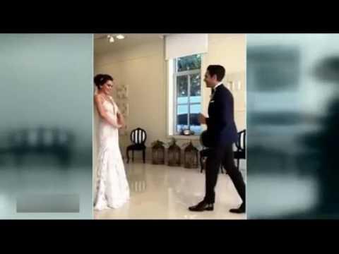 Neslihan Atagül ve Kadir Doğulu düğün töreni öncesi