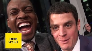 Sports Personality: Lutalo Muhammad's awesome red carpet vlog - BBC Sport