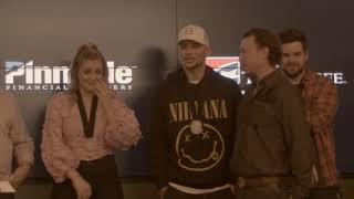 Kane Brown and Lauren Alaina are surprised by their choir teacher