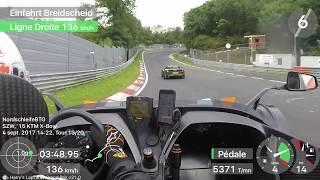 KTM X-Bow verfolgt eine schnelle Lady im Lotus Exige Cup auf der Nordschleife