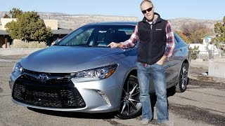 2015 Toyota Camry XSE: Not your mother's Camry! Real Review and Test