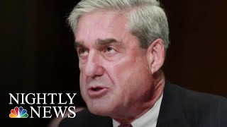 Mueller Report: No Trump-Russia Conspiracy Raises Ques Over Obstruction Of CJ | NBC Nightly News