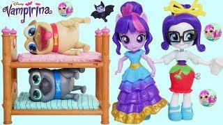Vampirina Jail My Little Pony Rarity Twilight Sparkle Switch Mix Toys Kids Junior Puppy Dog Pals!