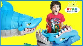 Shark Bite Let's Go Fishin' Family Fun Games for Kids!