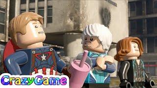 LEGO Marvel's Avengers Episode 12 - Iron Man, Vision, Thor, Hulk,  Quicksliver vs Ultimate Ultron