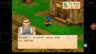 harvest moon back to nature indonesia part 33