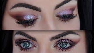 Huda Beauty Desert Dusk Palette Makeup tutorial