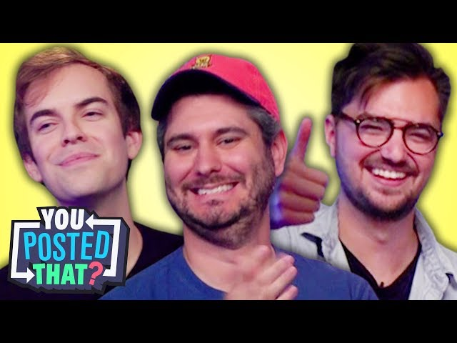 h3h3, Jacksfilms, and Elliott Morgan   You Posted That?