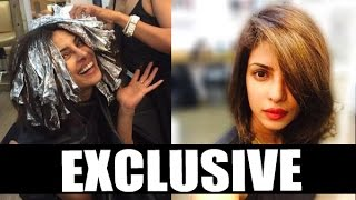 EXCLUSIVE -  PRIYANKA CHOPRA chops her Hair !!!
