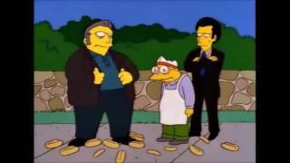 Es territorio de pretzels peque! / Accidente de pancha - Los Simpson