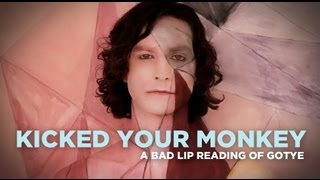 """Kicked Your Monkey"" — A Bad Lip Reading of Gotye"