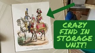 I Found ANTIQUE ARTWORK In An Abandoned Storage Unit!