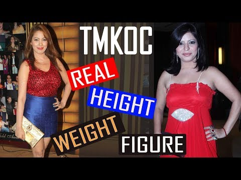 TMKOC Actress Real age Height Weight Bra Size | Gyan Junction