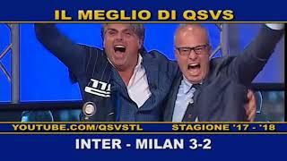 QSVS - I GOL DI INTER - MILAN 3-2 TELELOMBARDIA / TOP CALCIO 24
