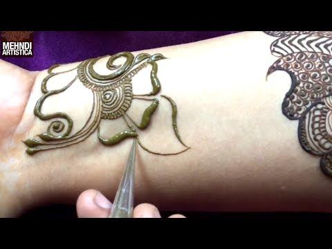 Xxx Mp4 Stylish Arabian Henna Mehandi Design Cute Artistic Mehndi By MehndiArtistica मेहँदी लगाना सीखे 3gp Sex