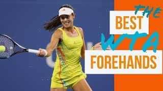 THE BEST WTA FOREHANDS PART 1 Ana Ivanovic, Serena Williams, Venus Williams and Maria Sharapova