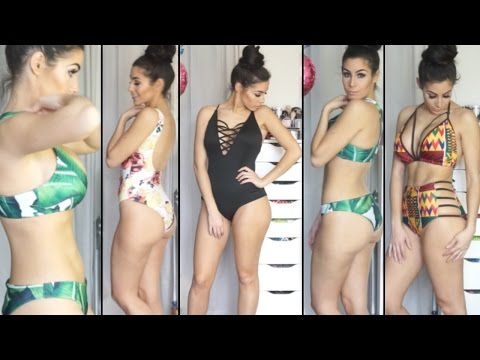 Bikini & Swimwear Try On | Fashion Haul | Zaful Review 2017