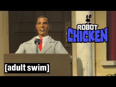 Robot Chicken s U.S Presidents Robot Chicken Adult Swim