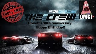 How to Download: THE CREW for FREE!! (2 DAYS LEFT!) - Ubisoft