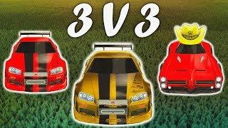 JHZER, MK & METSANAURIS | Rocket League 3v3