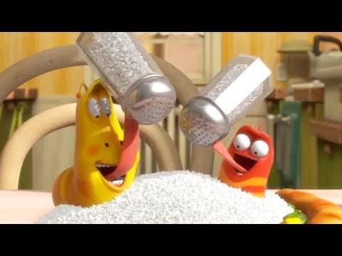 LARVA   EAT LESS SALT   Cartoons For Children   LARVA Full Episodes