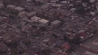 Raw Video: Police Search For Armed Suspect In San Jose