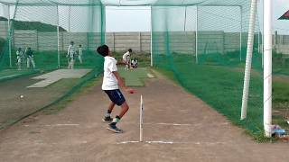 Under 14 Nets Practice session ( August Month) 2017 In Indore Cricket Club