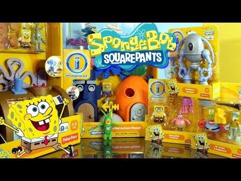 Play Doh Plankton Spongebob Squarepants Imaginext Playset Toys Super Unboxing Disney Cars Toy Club